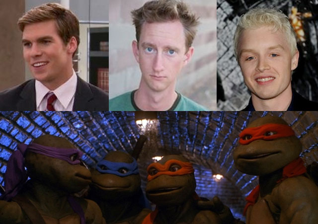 Leonardo will be played by Pete Ploszak, Donatello by Jeremy Howard, and Michaelangelo by Noel Fisher in the new TMNT reboot