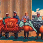 The Mars Volta - Amputechture: I was blessed with a wealthy patron/protector, and with a part of his patronage I advertised for 6 months in JUXTAPOZ magazine. The ads came and went, and in 6 months nothing happened. I was horrified, $5K blown. So after 8 months, there was an email from TMV management