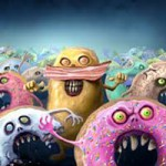 DIE YOU DOUGHNUT BASTARDS by Cameron Pierce