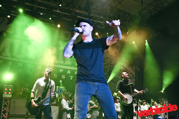 Dropkick Murphys photo by Kevin Rafter