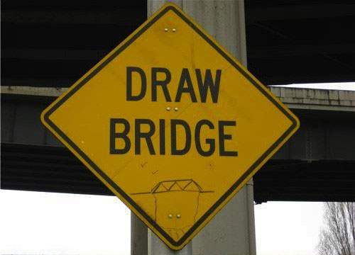 50 examples of funny graffiti art on signs and