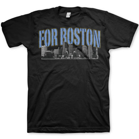 For Boston charity t-shirt