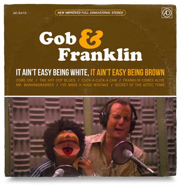 "Gob & Franklin ""It Ain't Easy Being White, It Ain't Easy Being Brown"""