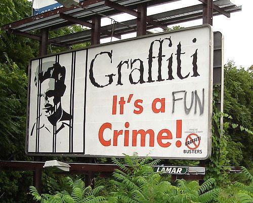 Graffiti: It's a Fun Crime!