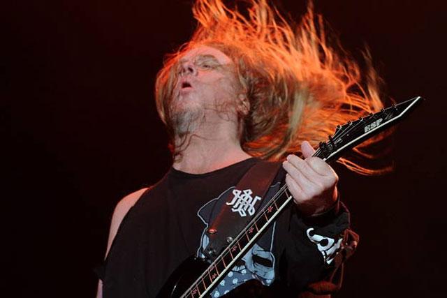Slayer Guitarist Jeff Hanneman Dead At Age 49