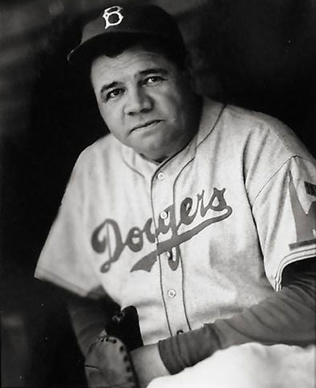 Babe Ruth, Brooklyn Dodgers