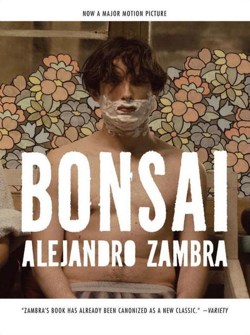 """Bonsai"" by Alejandro Zambra book cover"