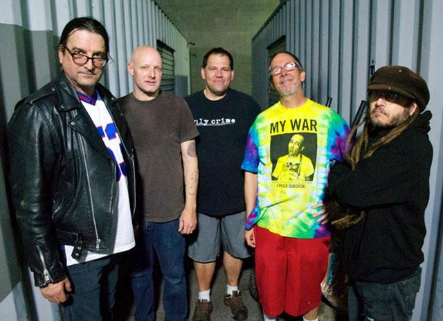 Flag 2013 featuring Keith Morris, Chuck Dukowski, Dez Cadena, Bill Stevenson, and Stephen Egerton
