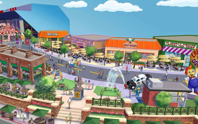 """The Simpsons"" Theme Park to Open in Orlando, Florida"