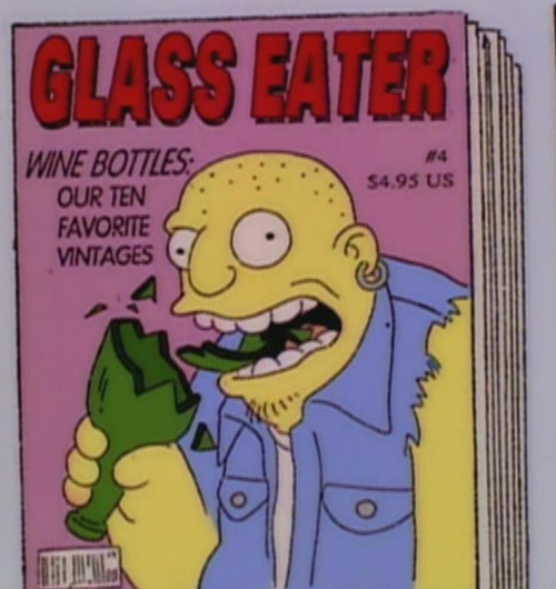 """WINE BOTTLES: OUR TEN FAVORITE VINTAGES, from """"The Springfield Connection,"""" season 6"""