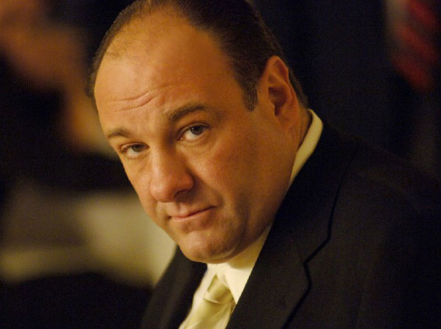 James Gandolfini of The Sopranos