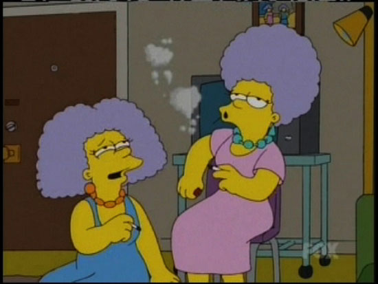 Patty and Selma Bouvier