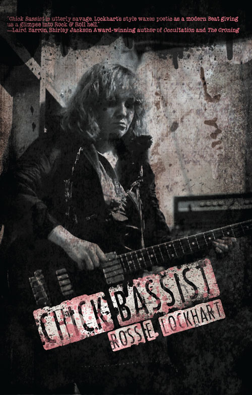 """Chick Bassist"" by Ross E. Lockhart"