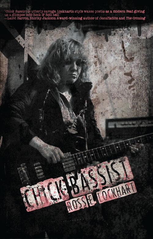 """Chick Bassist"" by Ross E. Lockhart"