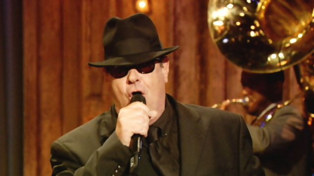 "Dan Akroyd as Elwood Blues on ""Late Night With Jimmy Fallon"""