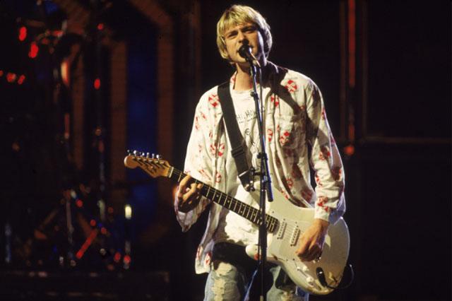 Nirvana at the 1992 MTV Music Video Awards
