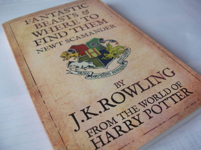 """Fantastic Beasts And Where To Find Them"" by ""Harry Potter"" author JK Rowling"