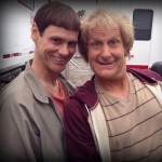 "Jim Carrey, Jeff Daniels Post First ""Dumb and Dumber To"" Photos on Twitter"