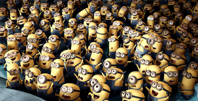 "Minions from ""Despicable Me"""