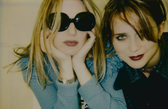 Nina Gordon and Louise Post of Veruca Salt - photo courtesy Veruca Salt official Facebook page