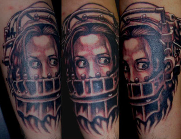 10 amazing horror movie tattoos. Black Bedroom Furniture Sets. Home Design Ideas