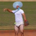 Watch: San Diego State University Plays a Scrimmage Baseball Game in Halloween Costumes