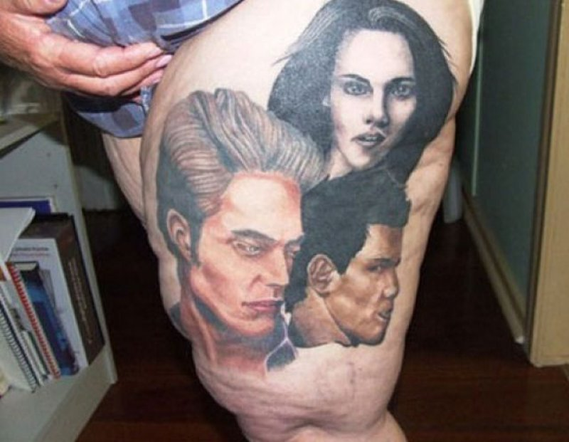 10 amazing horror movie tattoos for Twilight movie tattoo