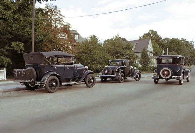 Models cars and town photo by Michael Paul Smith