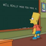 """The Simpsons"" Say Goodbye to Marcia Wallace, Voice of Edna Krabappel, During Show Credits"