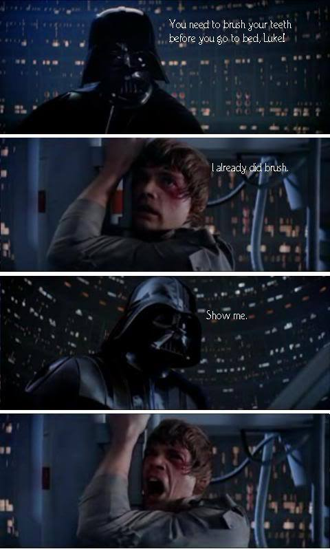 Luke and Darth