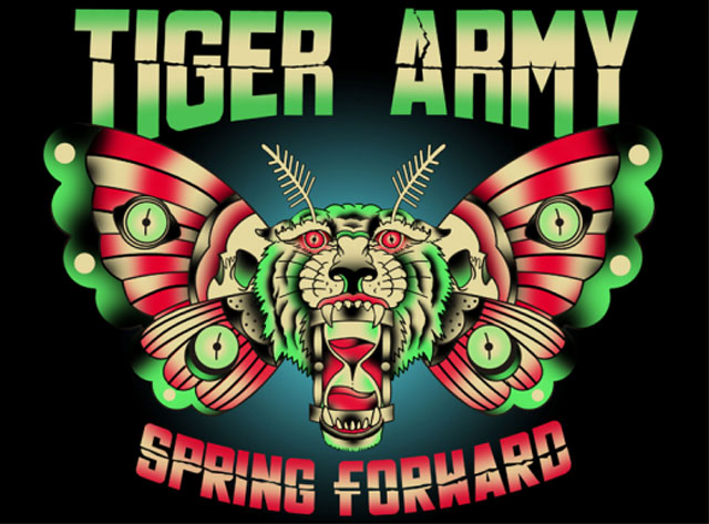Tiger Army Announce April 2014 West Coast Tour Dates
