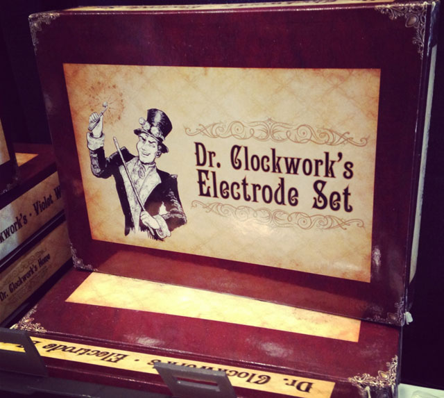 Dr. Clockwork's electro stimulation labs offer a DIY kit to tantalize and electrically tease your partner