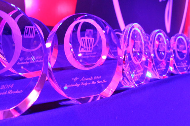 "The coveted ""O"" Awards trophies"
