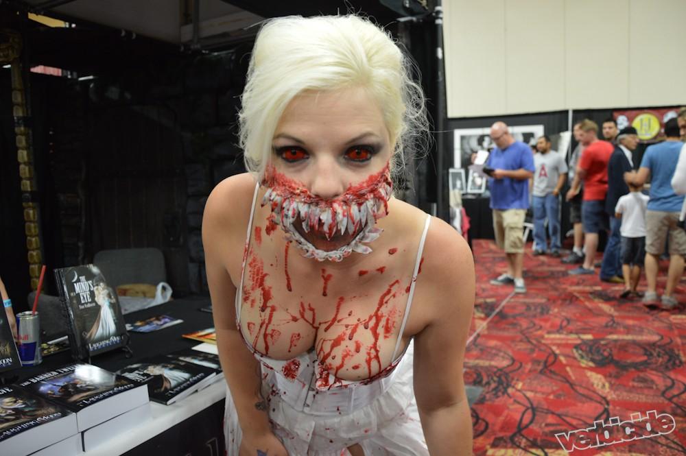 A maneater at Amazing Las Vegas Comic Con by Shahab Zargari
