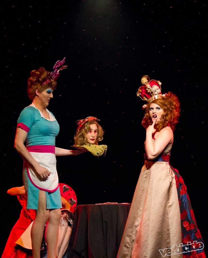 Through the Looking Glass: The Burlesque Alice in Wonderland by Heather Schofner