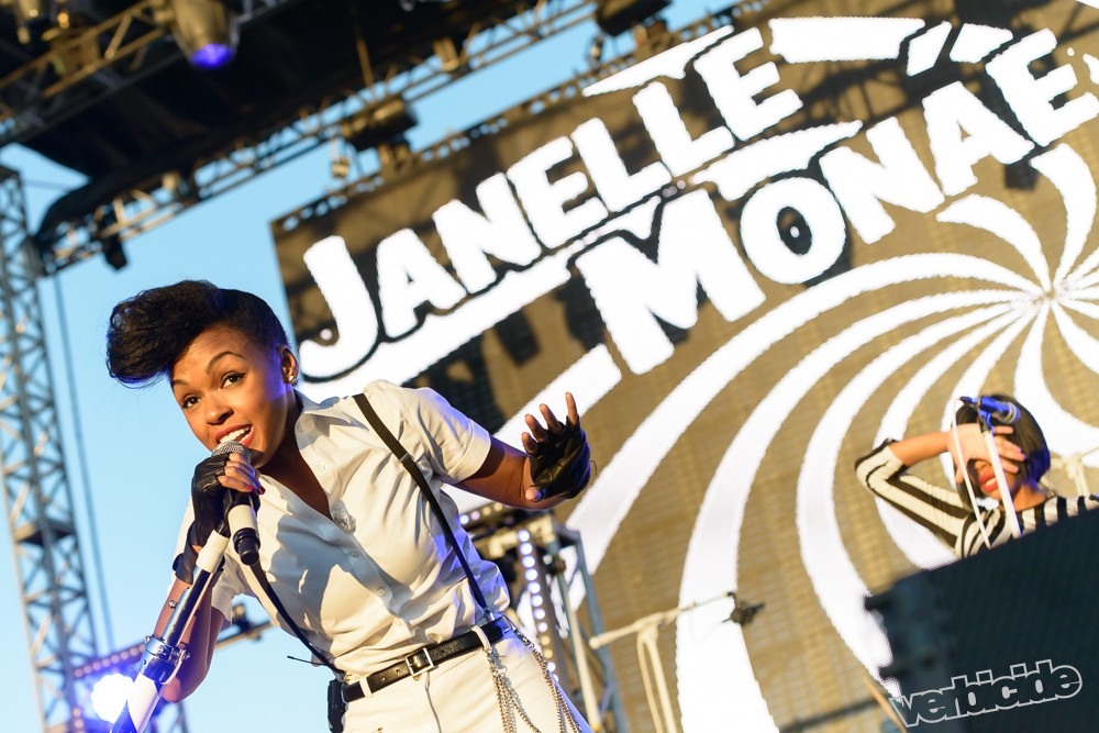 Janelle Monae at Life is Beautiful Festival by Adam Shane