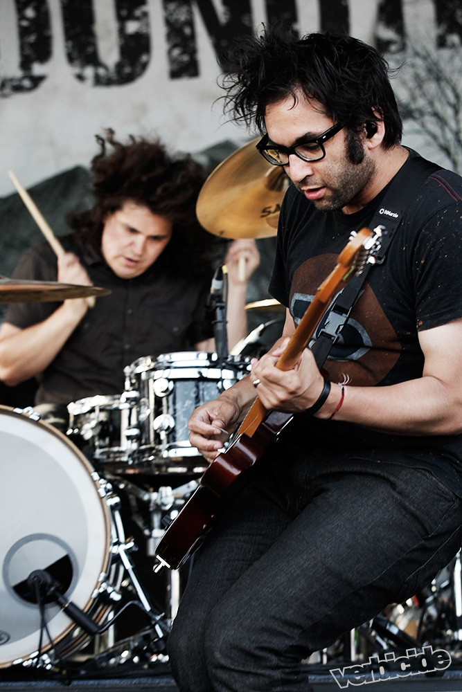 Motion City Soundtrack at Vans Warped Tour by Chad Elder