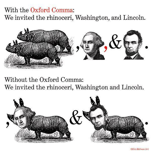 The Rhinoceri, Washington and Lincoln