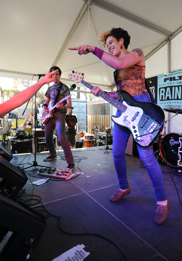 The Thermals at SXSW by Jessica Alexander