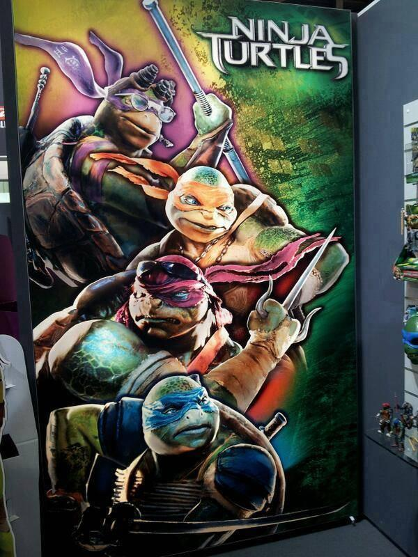 """Ninja Turtles"" 2014 promo movie poster"