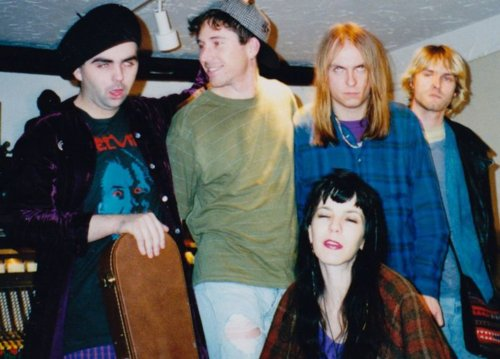 Melvins with Kurt Cobain