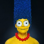 Watch a Model Transform Into Marge Simpson