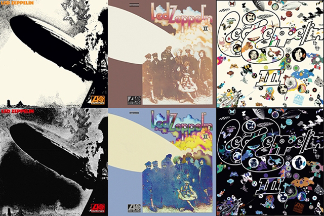 Led Zeppelin To Reissue First Three Albums With Unreleased