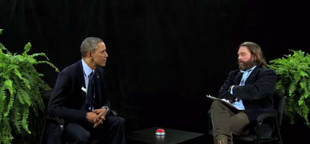 "Barack Obama on ""Between Two Ferns"""