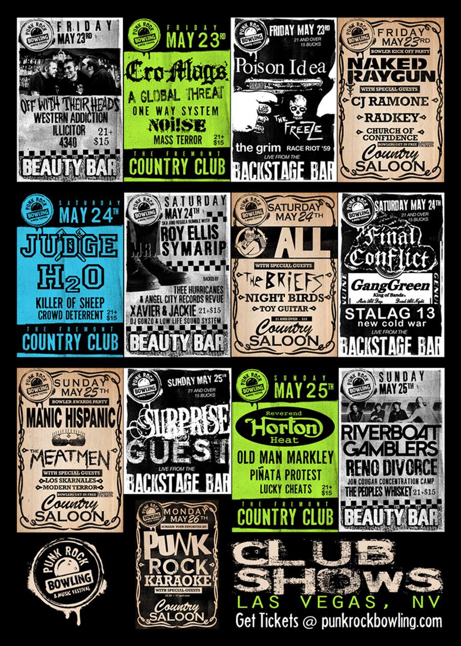 Punk Rock Bowling 2014 club shows