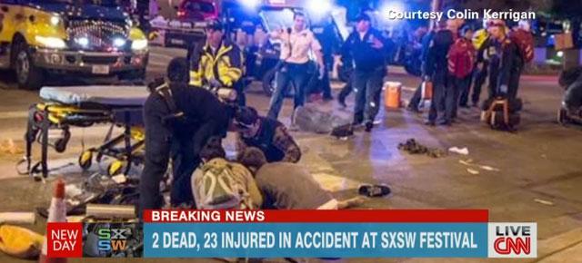 Accident at SXSW