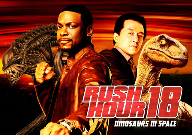 Rush Hour 18: Dinosaurs in Space