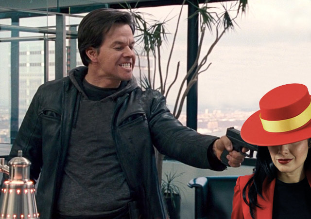 Mark Wahlberg Captures Carmen Sandiego