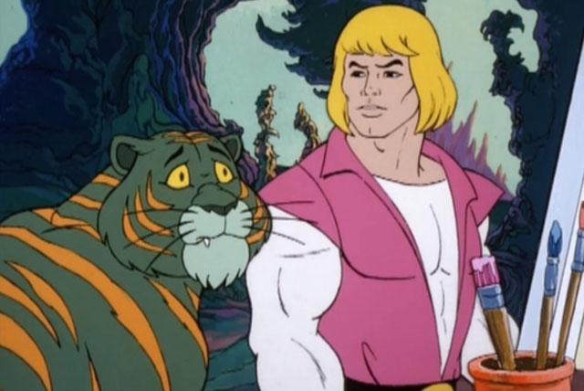 Prince Adam and Cringer
