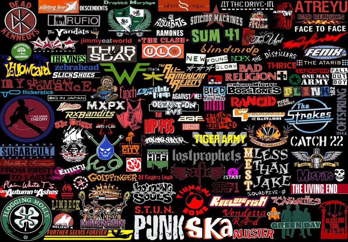 punk logos